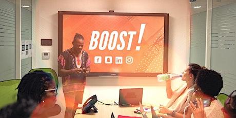 BOOST :  Ateliers  Marketing/Réseaux sociaux (Mars - Guadeloupe) billets