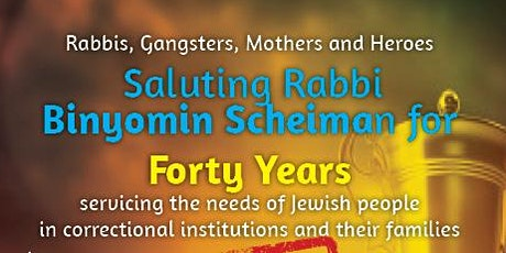 40 Years Rabbis - Gangsters - Mothers - Heroes tickets