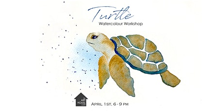 [CANCELLED] Turtle - Watercolour Workshop tickets