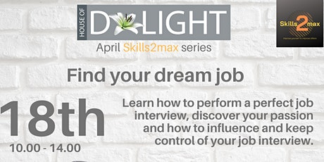 Find your dream job tickets