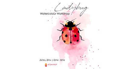 [POSTPONED] Ladybug - Watercolour Workshop tickets
