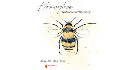 Honeybee - Watercolour Workshop tickets