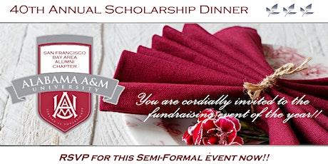 40th Annual Scholarship Dinner Sponsor Registration tickets