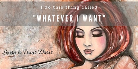Learn to Paint Divas TWO DAY Painting Workshop 11th-12th July 20 tickets