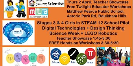 Girls in STEM LEGO Spike Prime 12 schools Pilot Showcase tickets