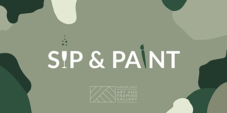 Sip and Paint Sunshine Coast - this is now online tickets