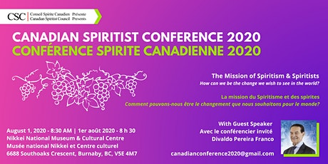 Canadian Spiritist Conference 2020 tickets