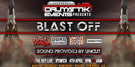 DrumAttik - Blast Off - 4th April - Ipswich tickets