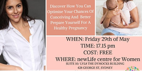 Trying For A Baby This Year? Discover How To Boost Fertility Naturally. tickets