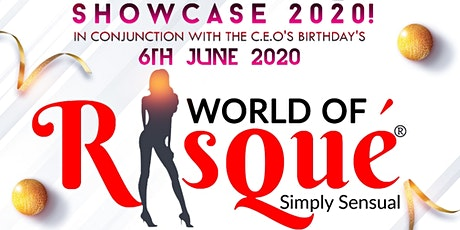 WORLD OF RISQUE' SHOWCASE 2020! tickets