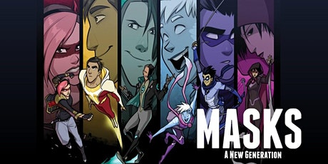 Masks: A New Generation - Session 3 tickets