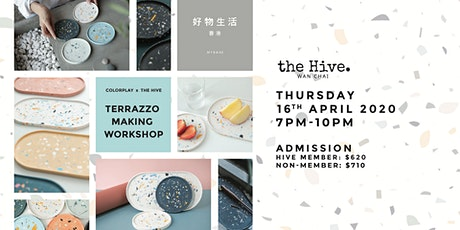 Postpone to TBC - Colorplay X the Hive Terrazzo Making Workshop tickets