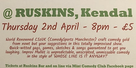 Mint Comedy Club presents Top Comedy Improv from ComedySportz Manchester  tickets