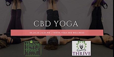 CBD Yoga with Happy Hemp Farmacy tickets