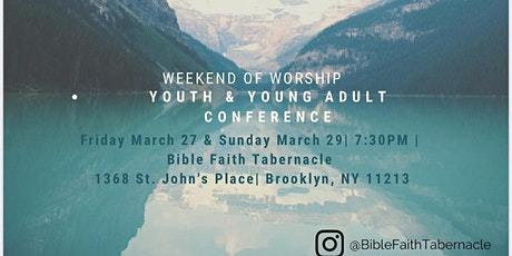 Bible Faith Tabernacle Youth and Young Adult Conference tickets