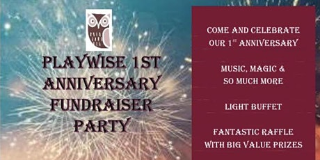 PlayWise 1st Anniversary Fundraiser Party tickets