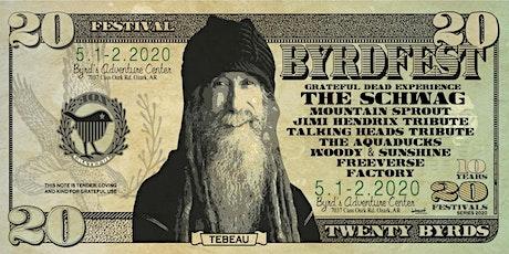 BYRDFEST 20 tickets