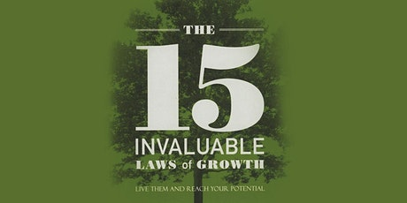 15 Laws of Invaluable Growth tickets