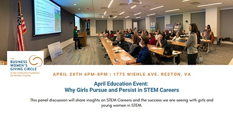 2020 April Education Event: Why Girls Pursue and Persist in STEM Careers tickets