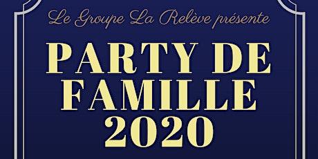 ÉVÉNEMENT REPORTÉ * Party de famille 2020 - 5e édition Formule Gala billets