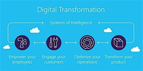 4 Weeks Digital Transformation Training in Christchurch tickets
