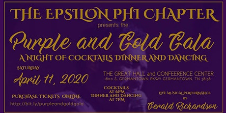 The Purple and Gold Gala tickets