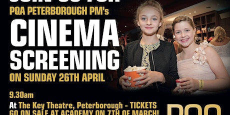 PQA Peterborough PM Red Carpet Cinema Screening tickets