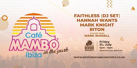 Cafe Mambo  Ibiza in the Park tickets
