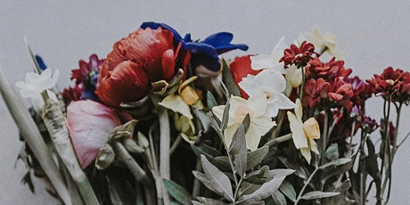 Red, White and Blue -  DIY Floral Design Workshop! tickets
