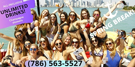 BOAT PARTY! SPRING BREAK Edition! tickets