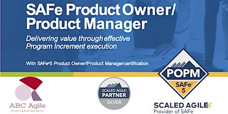 SAFe Product Owner/Product Manager 5.0 com Certificação POPM-Sao Paulo   ingressos