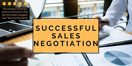 Successful Negotiation Skills Workshop tickets