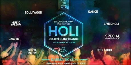 "The Nightfest - Color, Glow and Dance Party""Bollywood Karma 2.0"" tickets"