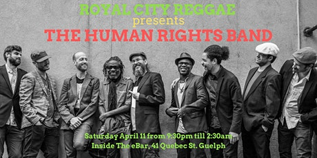 Royal City Reggae April 11 - The Human Rights band tickets