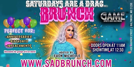 Saturdays are a Drag... Brunch tickets