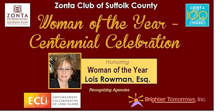 Woman of the Year - Centennial Celebration tickets