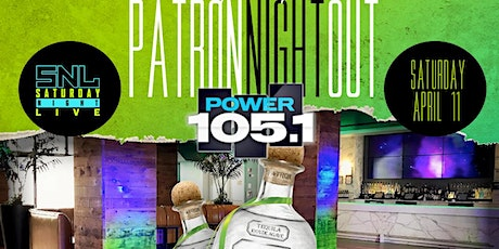 Patron Night Out @ Hudson Terrace tickets
