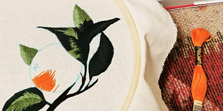 Botanical Embroidery and Thread Painting Workshop tickets