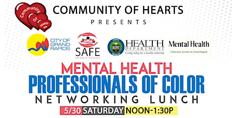 Mental Health Professionals of Color Networking Lunch tickets