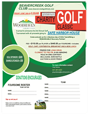WOODHAVEN OHIO 2ND ANNUAL CHARITY GOLF CLASSIC tickets