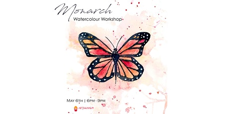 Monarch - Watercolour Workshop tickets