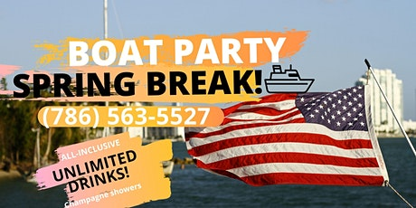 #1 SPRING BREAK Special! BOAT PARTY! tickets