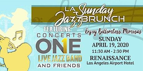LA Sunday Jazz Brunch April 2020 Edition tickets