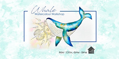 Whale - Watercolour Workshop tickets