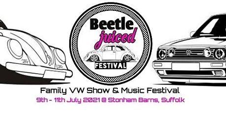 VW Beetle-Juiced Festival 2021 tickets