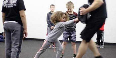 POSTPONED Self Defense Class for KIDS (ages 6 - 11) tickets