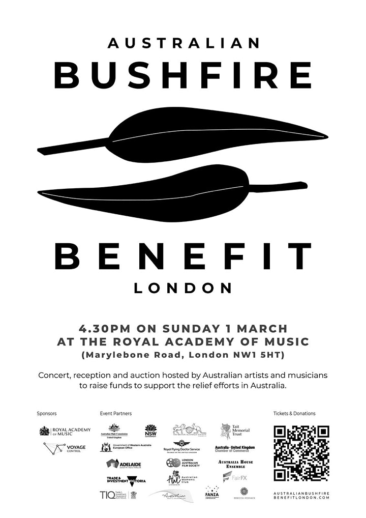Australian Bushfire Benefit London image