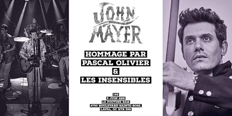 Hommage Jonh Mayer tickets
