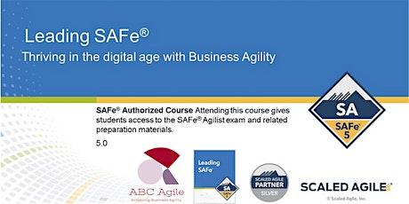Leading SAFe 5.0 com Certificação SAFe Agilist -Rio De Janeiro ingressos