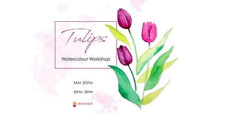 Tulips - Watercolour Workshop tickets